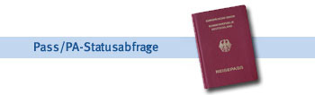 Pass/PA-Statusabfrage